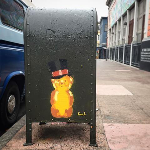 honey bear mail box