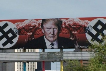 New Trump billboard in Phoenix AZ