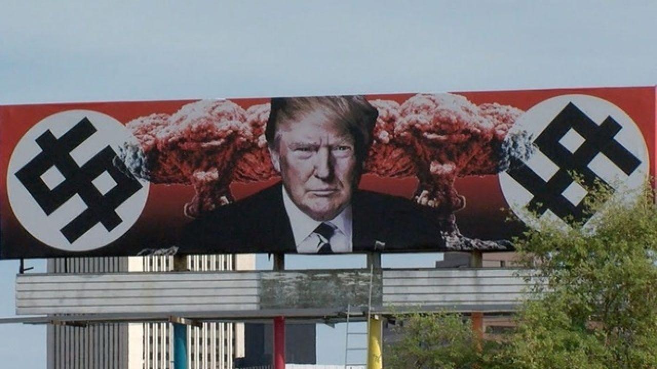 New Trump billboard in Phoenix AZ