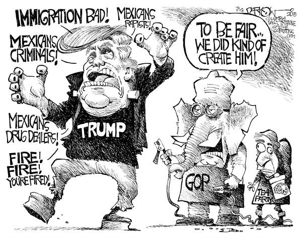 Trumpenstein © John Darkow, Columbia Daily Tribune, Missouri