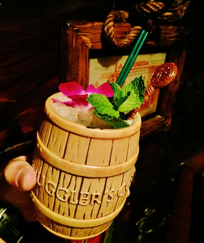 The Rum Barrel at Smuggler's Cove. Photo by