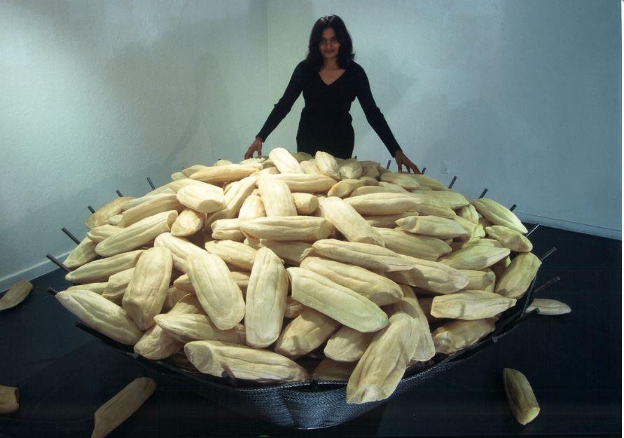 rice lore installation 2003