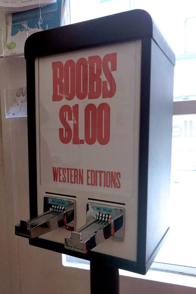 boob vending