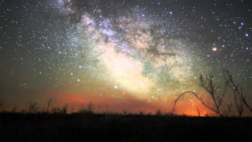 The Milky Way Galaxy from Earth - bas poetry new work from helene ridella