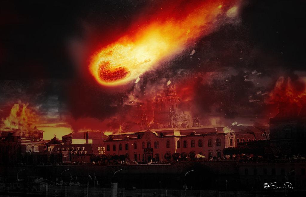 Apocalypse City Fire The HApocalypse: Comed...