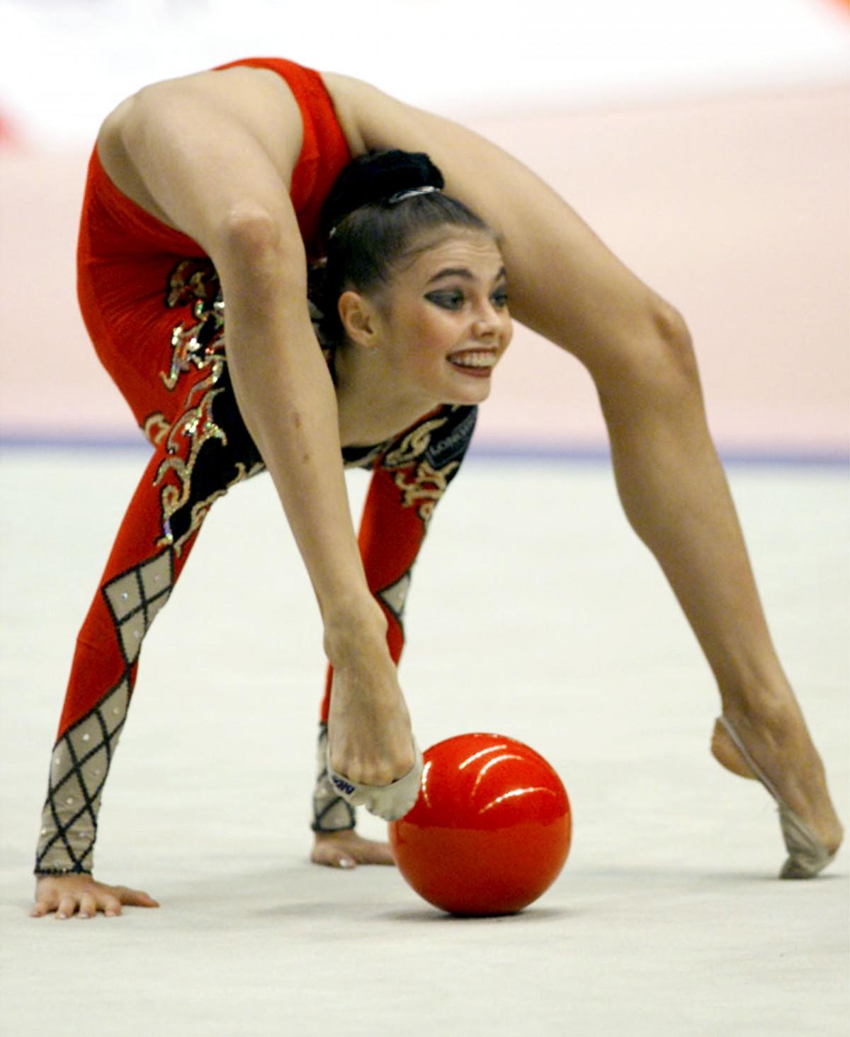 The thinner Alina Kabaeva impressed the public in Sochi 10/19/2017 37