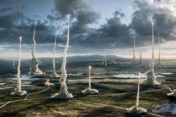 Apocalypse scene from X-Men: Apocalypse.