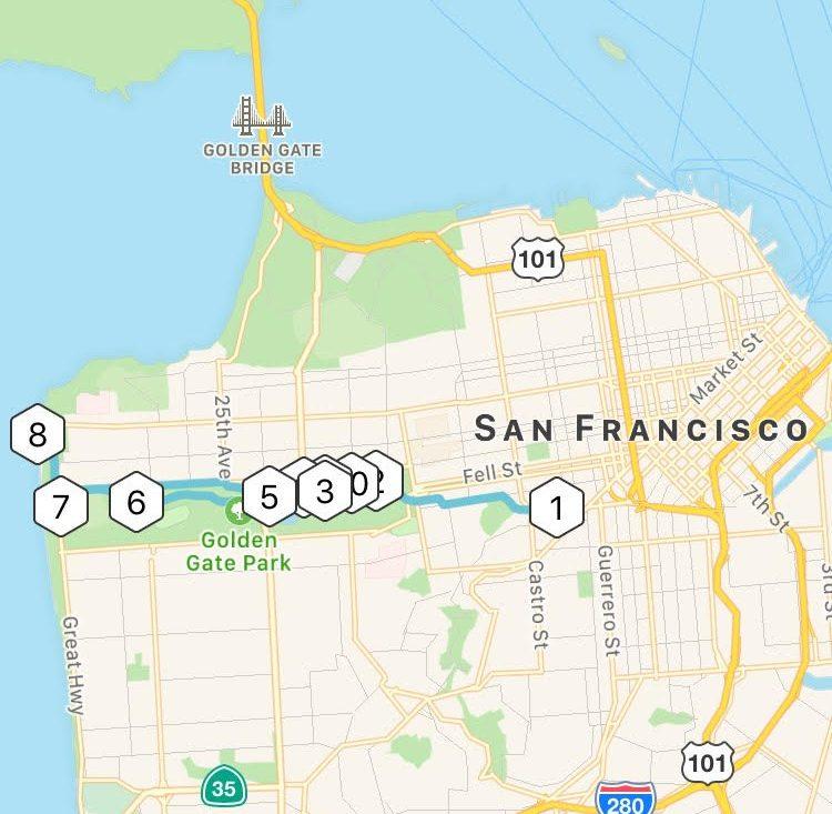 Golden Gate Park S Hidden Gems On Bicycle Broke Ass