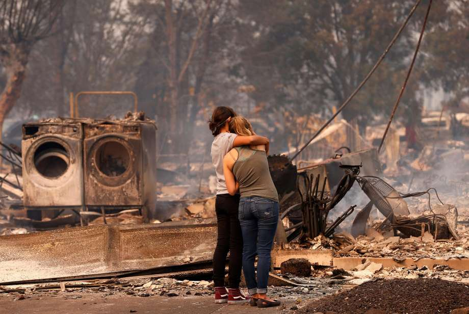 How You Can Help Napa Fire Victims Now Broke Ass