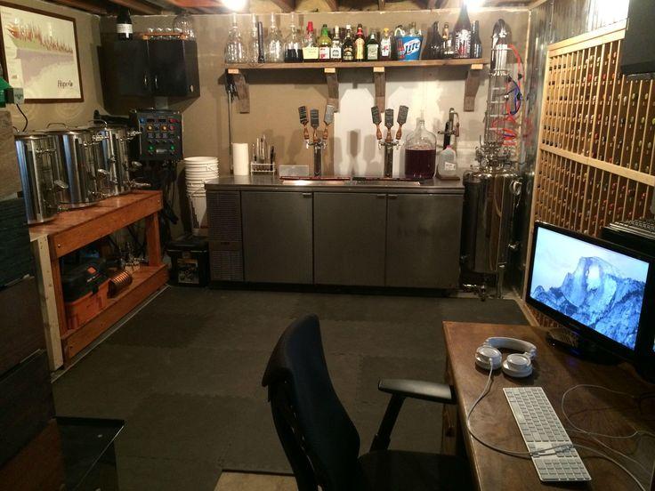 homebrewing-garage