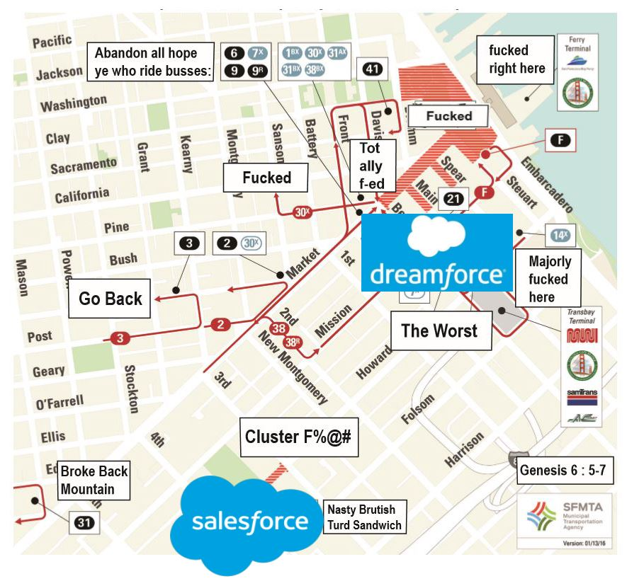 Dreamforce Traffic Maps & Infographics - Broke-Ass Stuart\'s ...