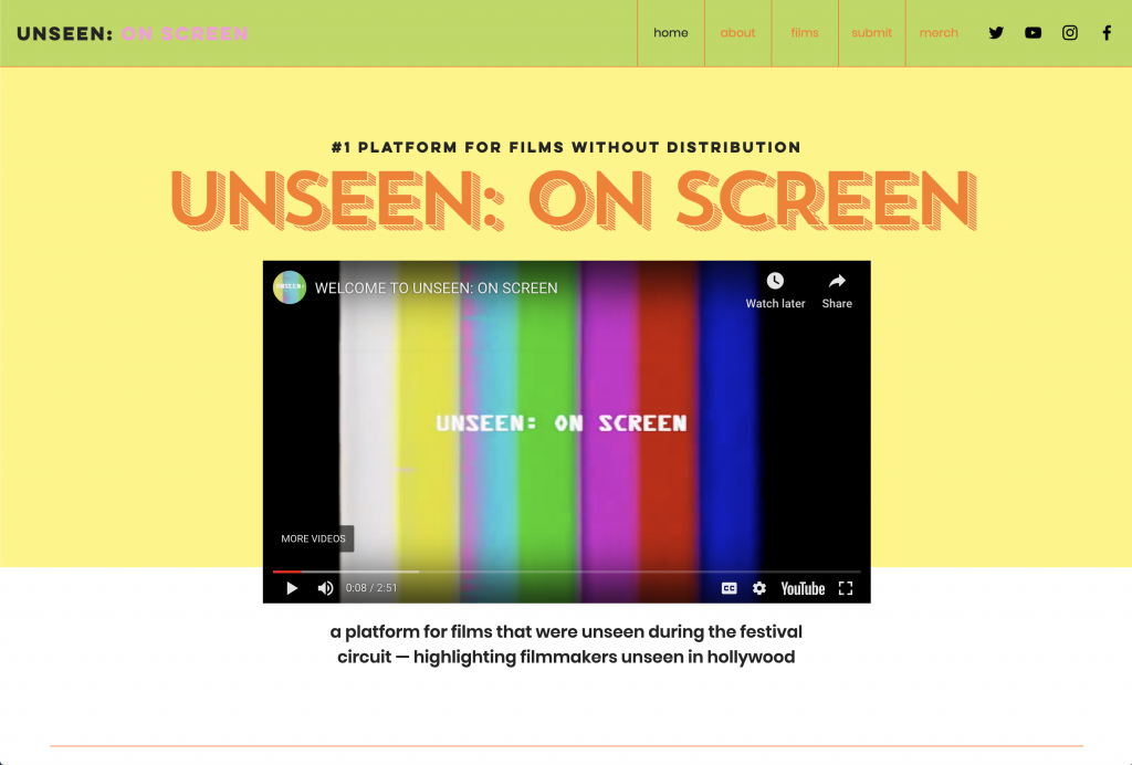 unseen on screen