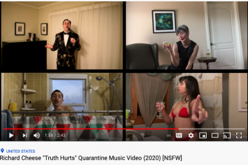 quarantine music video