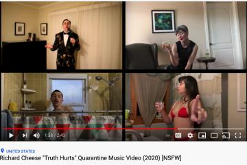 quarantine music video
