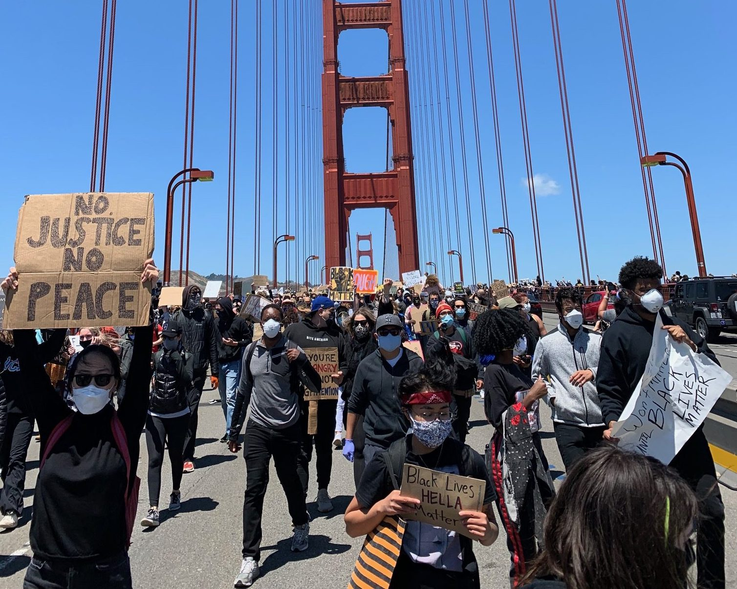 Bay Area Protests