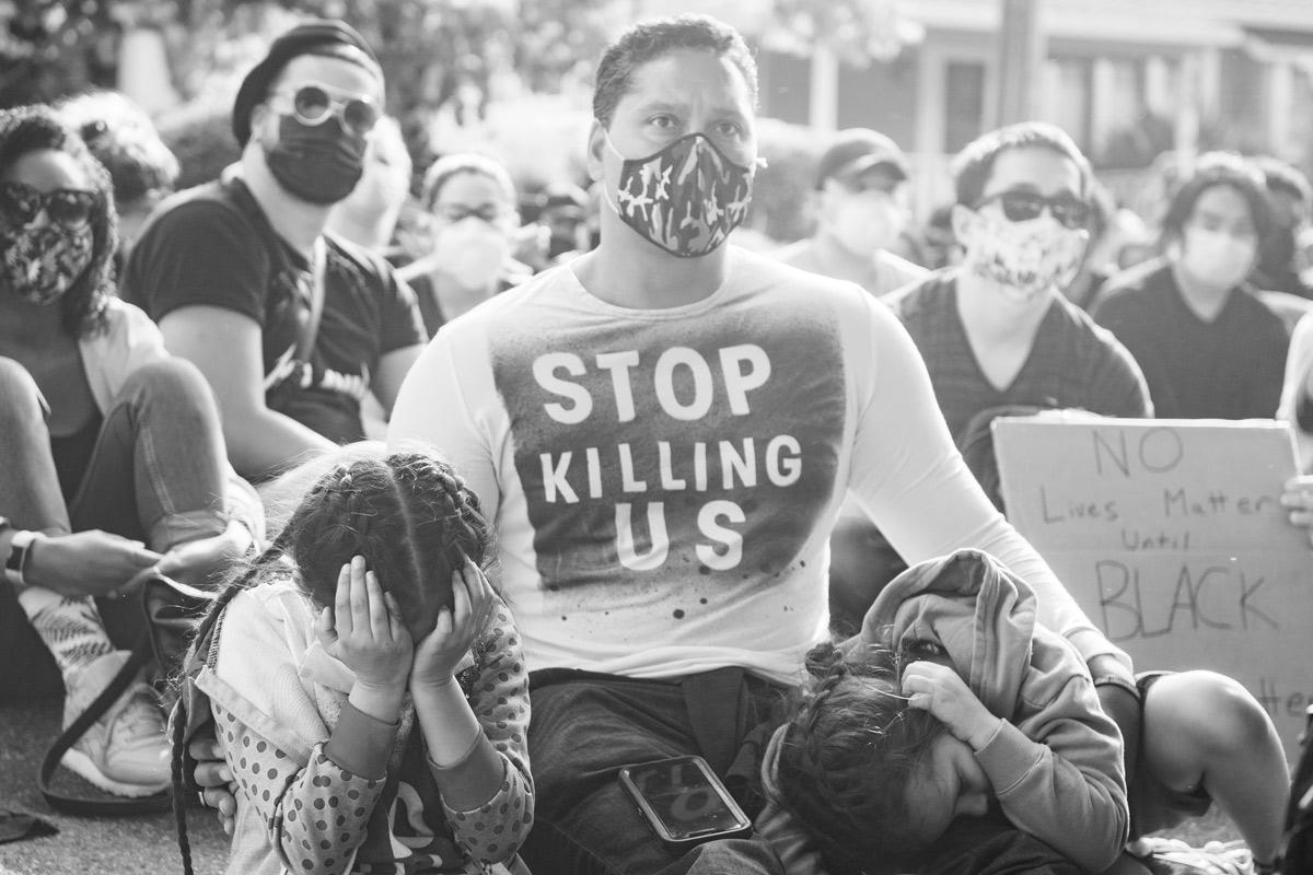 George Floyd Protest: Photo Chris Tuite