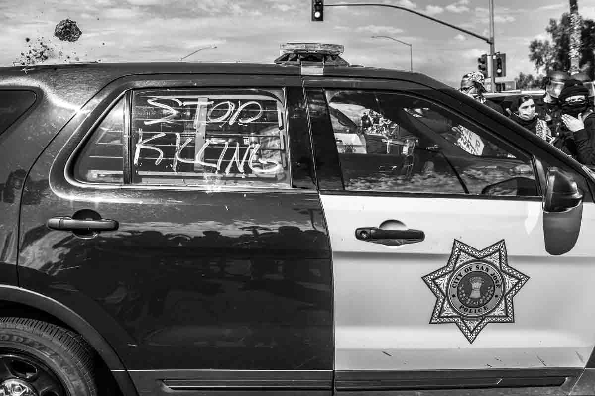 BLM Protest: Photo Chris Tuite