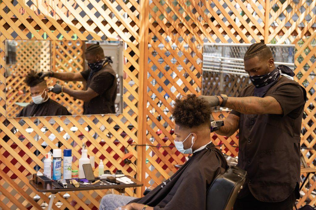 Sf S First Outdoor Barber Shop Broke Ass Stuart S Website
