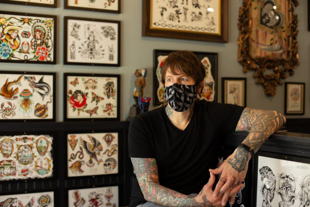 Eric Jones of Let it Bleed Tattoo