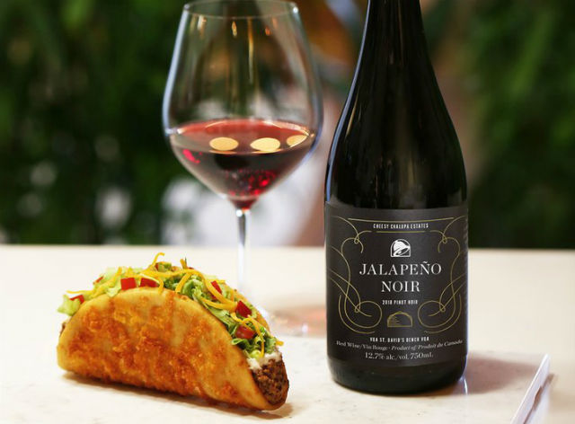 Taco Bell Adds 'Jalapeño Noir Wine' To Its Menu