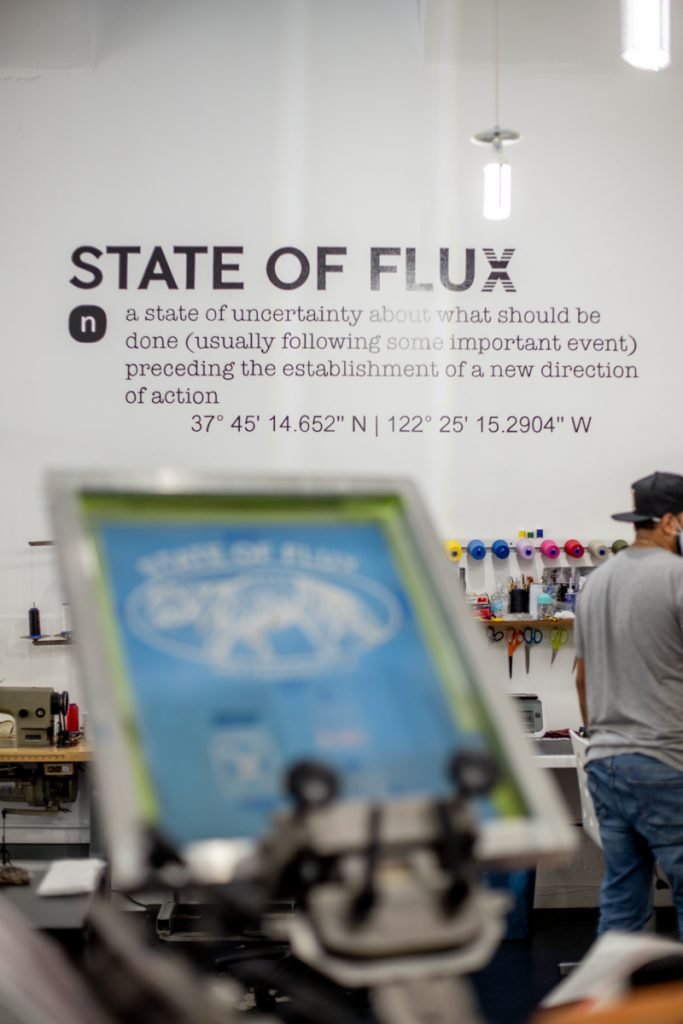State of Flux on 1176 Valencia St