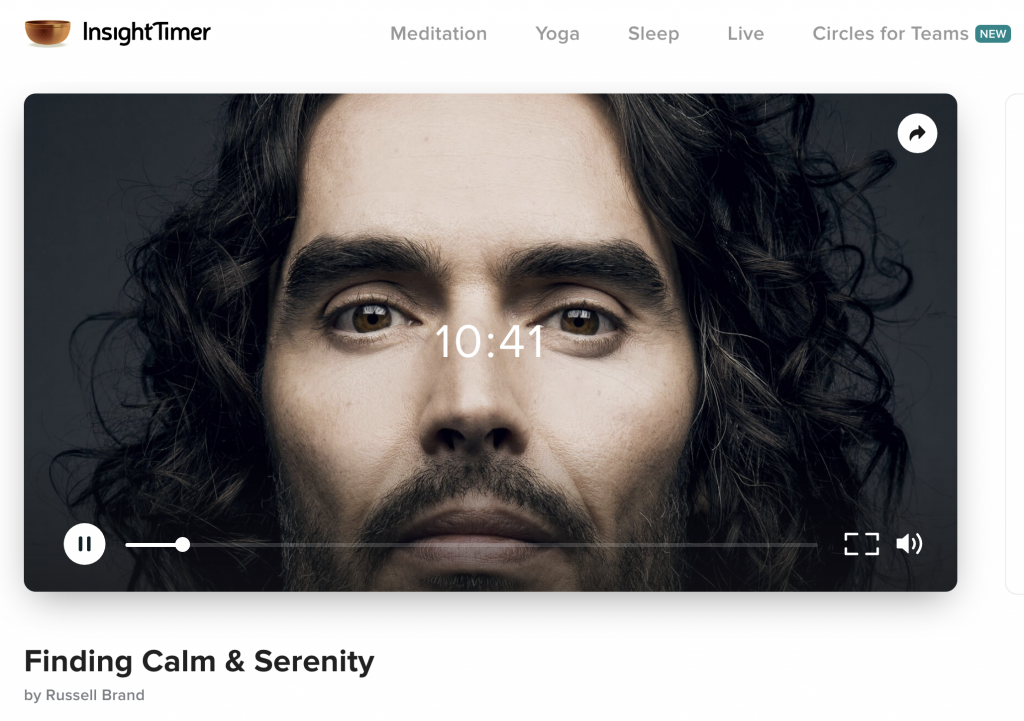 Best Meditation Apps Russel Brand