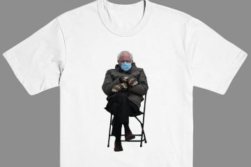 Bernie Sanders Mittens Shirt