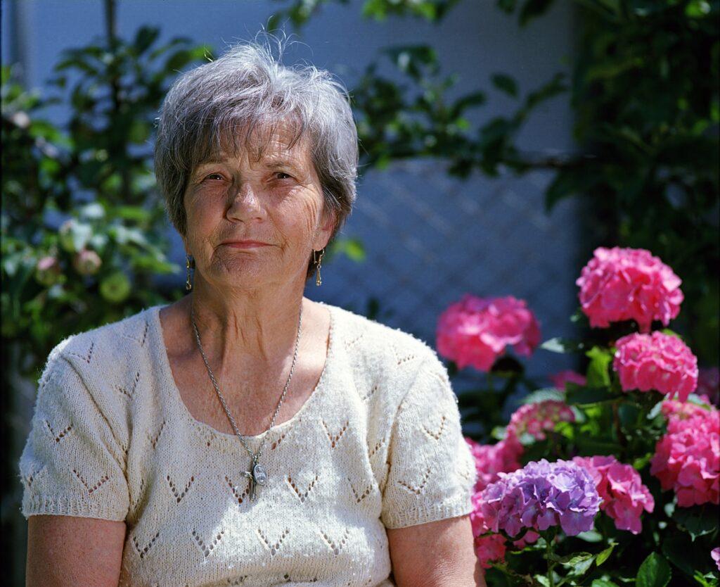 Photo of a elderly woman